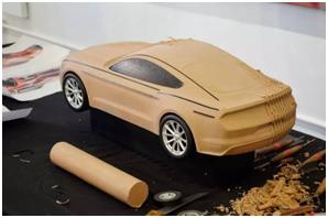 汽车油泥设计