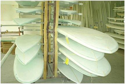 用于冲浪板喷漆